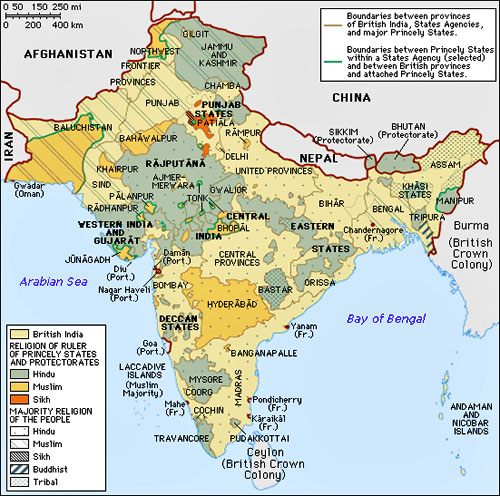 Notes on the Partition of South Asia