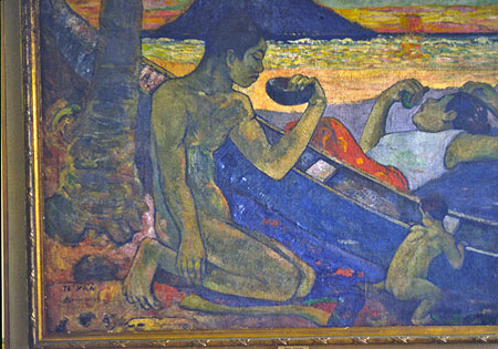 Te Poipoi - Paul Gauguin - WikiGallery.org, the largest