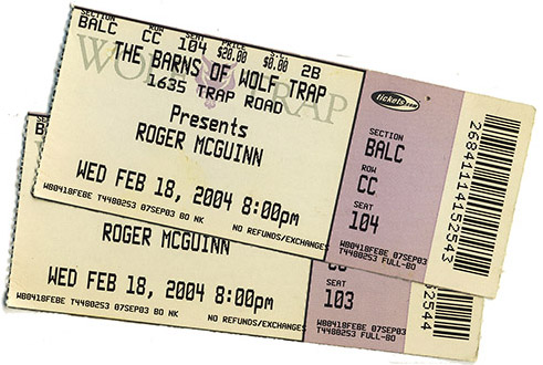 Wolf Trap tickets