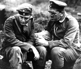 the changes brought by war in all quiet on the western front by erich maria remarque The war novel, all quiet on the western front, is written by erich maria remarque and is based on a real soldier's experience during world war i the main.